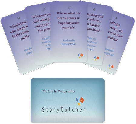 My Life in Paragraphs Card Deck